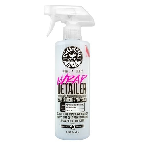 Chemical Guys SPI21716 - Wrap Detailer Gloss Enhancer & Protectant for Vinyl Wraps (16 oz)