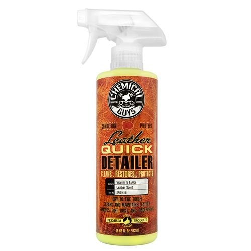 Chemical Guys Canada SPI21616 - Leather Quick Detailer, Matte Finish Leather Care Spray (16 oz)