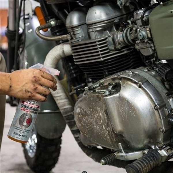 MTO10816 - Moto Line, Gearhead Motorcycle Cleaner & Degreaser for  Drivechains and Engine Parts (16 oz)