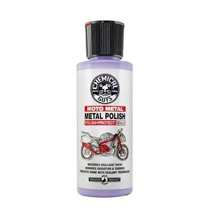 Chemical Guys Canada MTO10604 - Metal Polish Cleaner, Polish & Protectant for Motorcycles (4 oz)