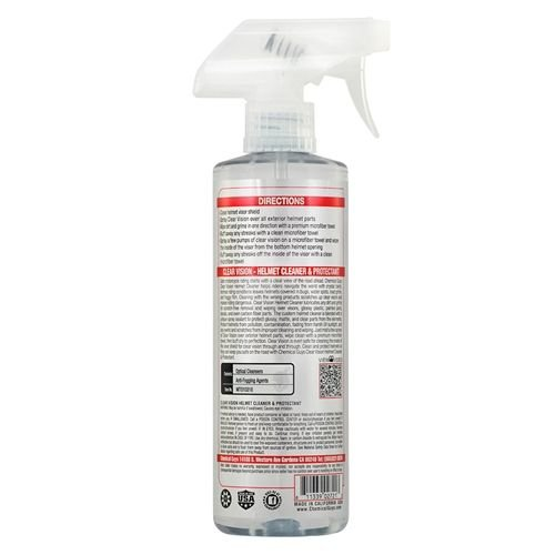 Chemical Guys Canada MTO10316 - Clear Vision Streak Free Helmet Cleaner & Protectant (16 oz)