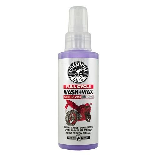 Chemical Guys Canada MTO10004 - Full Cycle Waterless Wash and Wax Cleaner and Protectant for Motorcycles (4 oz)