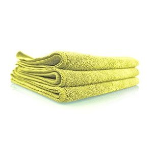 Chemical Guys Canada MICYELLOW03 - Workhorse Yellow Professional Grade Microfiber Towel, 16'' x 16'' (Interior), 3 Pack