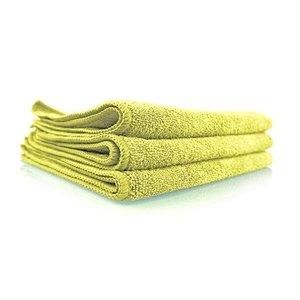 Chemical Guys MICYELLOW03 - Workhorse Yellow Professional Grade Microfiber Towel, 16'' x 16'' (Interior), 3 Pack