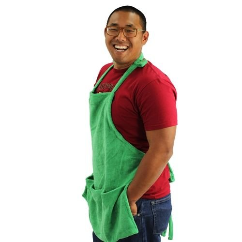 Chemical Guys Canada MIC_APRON1 - Microfiber Detailing Apron with Pockets & Hook & Loop Straps for Cords