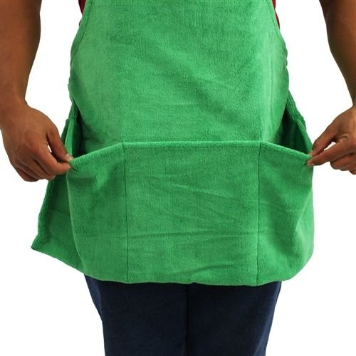 Chemical Guys MIC_APRON1 - Microfiber Detailing Apron with Pockets & Hook & Loop Straps for Cords