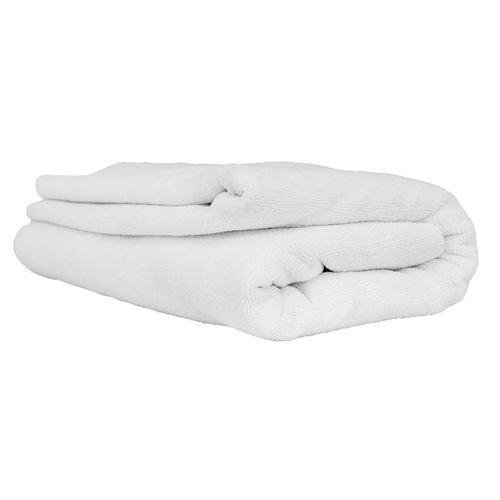 Chemical Guys MIC_807 - Elegant Edgeless Microfiber Towel, White 51'' x 30''