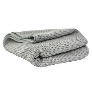 Chemical Guys MIC_781_01 - Waffle Weave Gray Matter Microfiber Drying Towel, 25'' x 36''