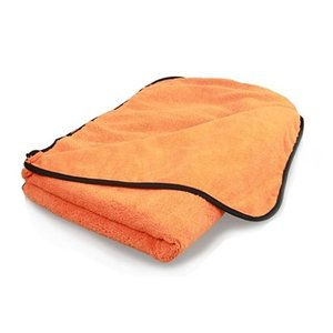 Chemical Guys MIC_725 - Premium Car Drying Microfiber Towel, Orange 25'' x 36''