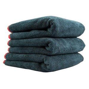 Chemical Guys Canada MIC_508_03 - Premium Red-Line Microfiber Towel, 16'' x 16'' (3 Pack)