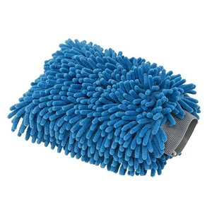 Chemical Guys MIC811 - Chenille Microfiber Premium Scratch-Free Wash Mitt Blue