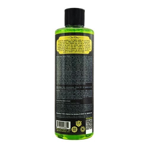 Chemical Guys CWS20316 - Foaming Citrus Fabric Clean (16 oz)