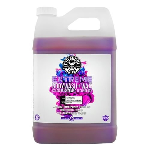 Chemical Guys Canada CWS207 - Extreme Body Wash + Wax with Color Brightening Technology (1 Gal)