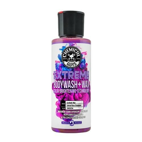 Chemical Guys Canada CWS20704 - Extreme Body Wash + Wax with Color Brightening Technology (4 oz)