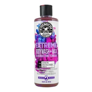 Chemical Guys CWS20716 - Extreme Body Wash + Wax with Color Brightening Technology (16 oz)