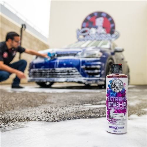 Chemical Guys Canada CWS20716 - Extreme Body Wash + Wax with Color Brightening Technology (16 oz)