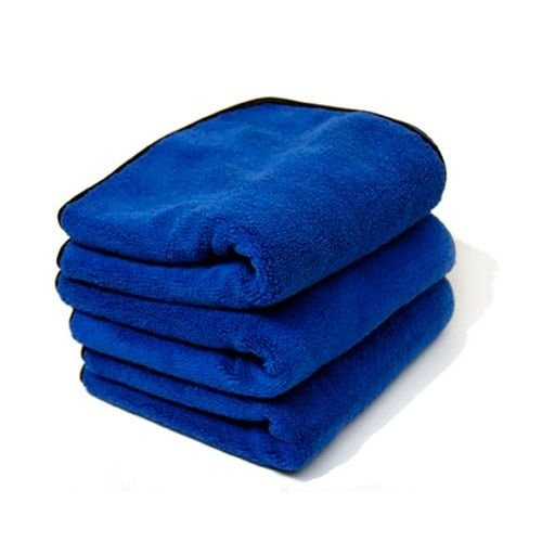 Chemical Guys Canada MIC_1102_03 - Monster Extreme Thickness Microfiber Towel, Blue 16'' x 24'' (3 Pack)