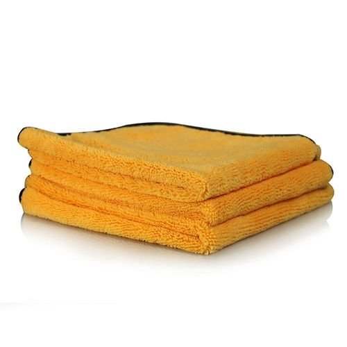 Chemical Guys MIC50203 - Elite Ultra Plush Microfiber Towels with Microfiber Edges, 16'' x 16'' (3 Pack)