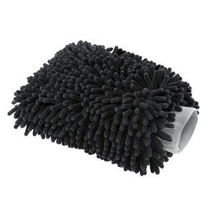 Chemical Guys MIC498 - Chenille Microfiber Premium Scratch-Free Wash Mitt Black