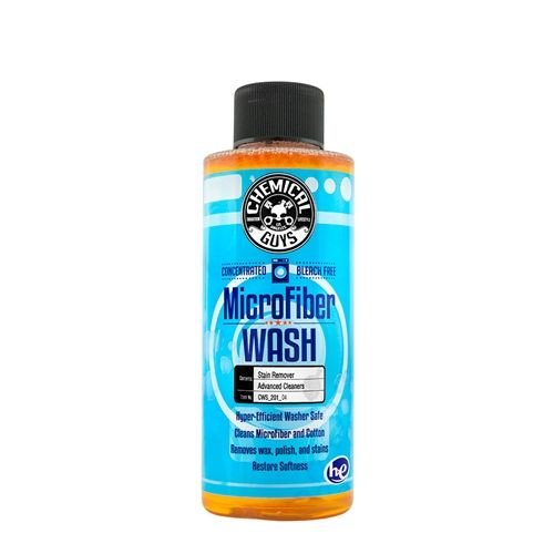 Chemical Guys CWS_201_04 - Microfiber Wash Cleaning Detergent Concentrate (4 oz)
