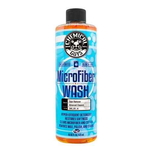 Chemical Guys Canada CWS_201_16 - Microfiber Wash Cleaning Detergent Concentrate (16 oz)