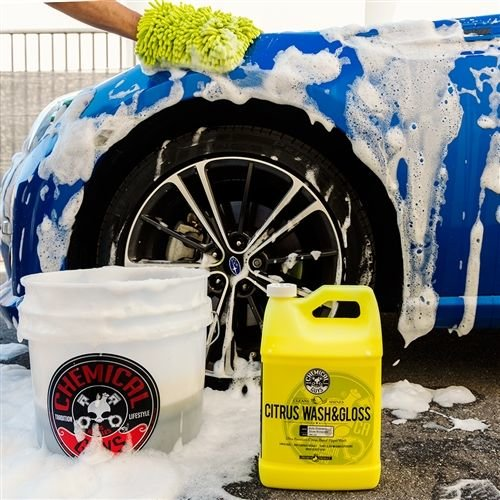 Chemical Guys Canada CWS_301 - Citrus Wash & Gloss Concentrated Car Wash (1 Gal)