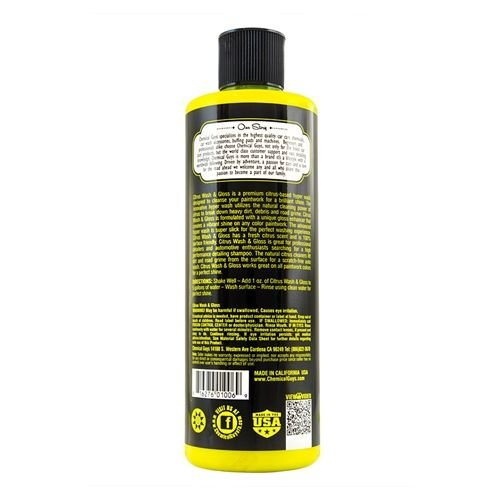 Chemical Guys Canada CWS_301_16 - Citrus Wash & Gloss Concentrated Car Wash (16 oz)