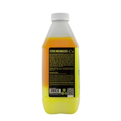 Chemical Guys Canada CWS_301_64 - Citrus Wash & Gloss Concentrated Car Wash (64 oz)