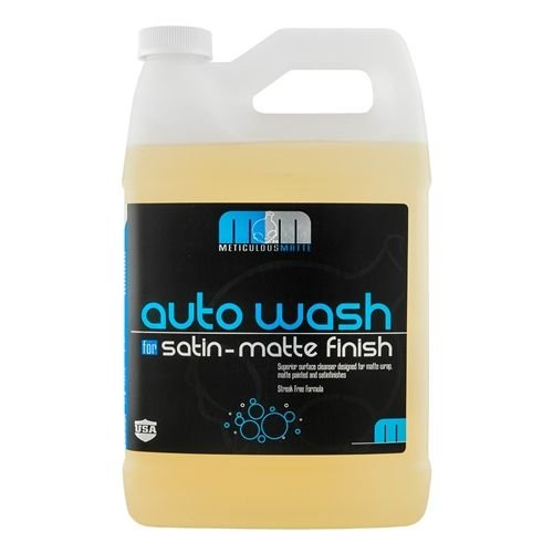 Chemical Guys Canada CWS_995 - Meticulous Matte Auto Wash for Satin Finish & Matte Finish Paint (1 Gal)
