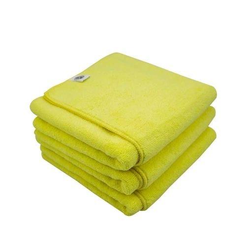 Chemical Guys MIC36503 - Workhorse XL Yellow Professional Grade Microfiber Towel, 24'' x 16'' (Interior), 3 Pack