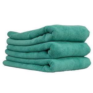 Chemical Guys Canada MIC36403 - Workhorse XL Green Professional Grade Microfiber Towel, 24'' x 16'' (Exterior), 3 Pack