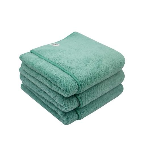 Chemical Guys MIC36403 - Workhorse XL Green Professional Grade Microfiber Towel, 24'' x 16'' (Exterior), 3 Pack