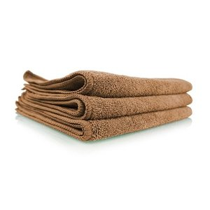 Chemical Guys Canada MIC35403 - Workhorse Tan Professional Grade Microfiber Towel, 16'' x 16'' (Leather & Vinyl), 3 PACK