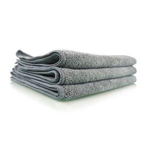Chemical Guys Canada MIC35203 - Workhorse Gray Professional Grade Microfiber Towel, 16'' x 16'' (Metal), 3 Pack