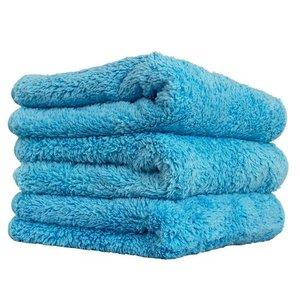 Chemical Guys MIC32103 - Shaggy Fur-Ball Microfiber Towel, Blue 16'' x 16'' (3 PACK)