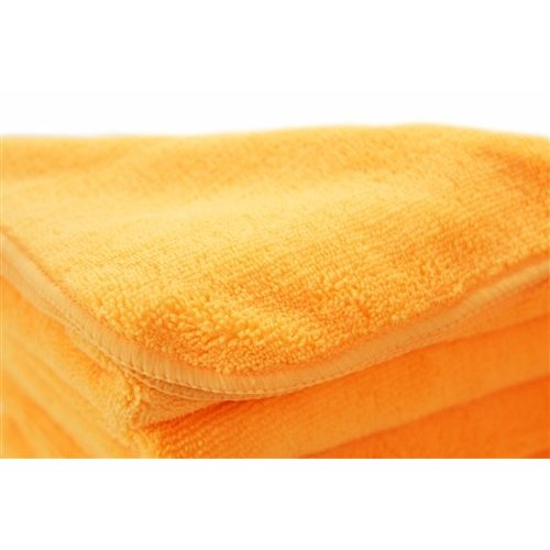 Chemical Guys Canada MIC30303 - Orange Banger Extra Thick Microfiber Towel, 16.5'' x 16.5'' (3 Pack)