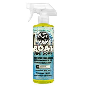 Chemical Guys Canada MBW10416 - Marine and Boat Wipe Down Quick Detailer and Water Spot Remover (16 oz)