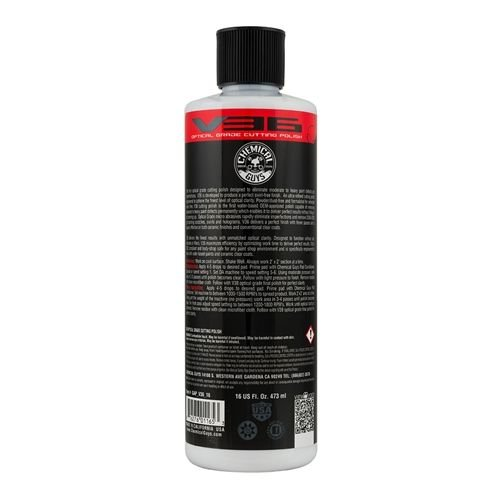 Chemical Guys GAPV3616 - V36 Optical Grade Cutting Polish (16 oz)