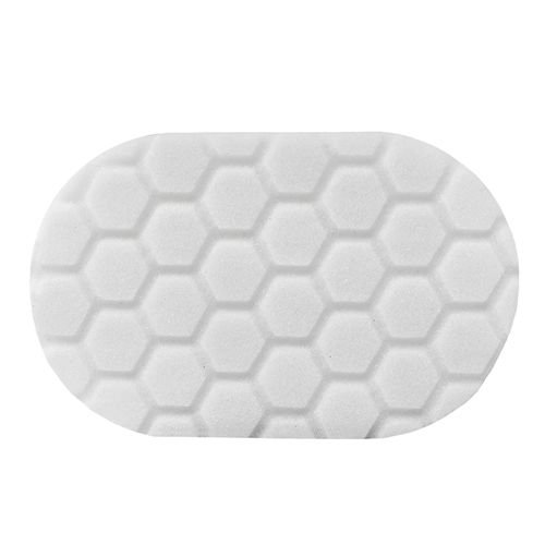 Hex-Logic BUFX_202 - Hex-Logic Polishing Hand Applicator Pad, White (3 x 6 x 1 Inch)