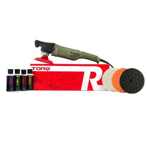 TORQ BUF504X - TORQR Precision Power Rotary Polisher Kit (8 Items)