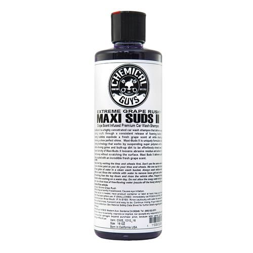 Chemical Guys Canada CWS_1010_16 - Maxi-Suds II Grape Rush Super Suds Car Wash Shampoo (16 oz)