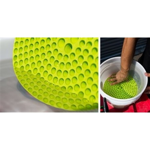 Chemical Guys Canada 2 Bucket & 1 Dirt Trap Combo (Lime Green)