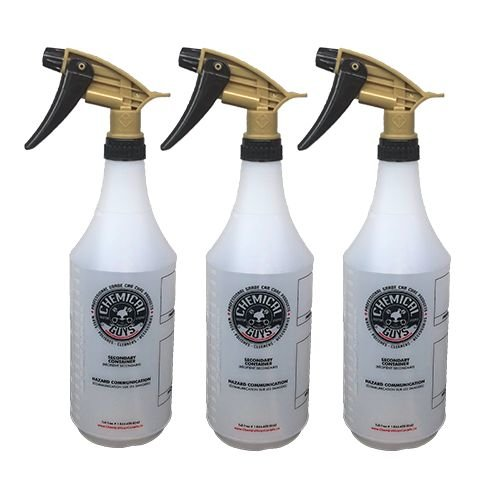 Chemical Guys ACC_136_03 - Professional Acid Resistant Sprayer with Heavy Duty Bottle (32 oz) (3 pack)