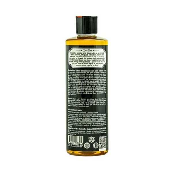 Chemical Guys Canada CWS21116 - Beer Scent  Snow Foam [Limited Edition] (16 oz)