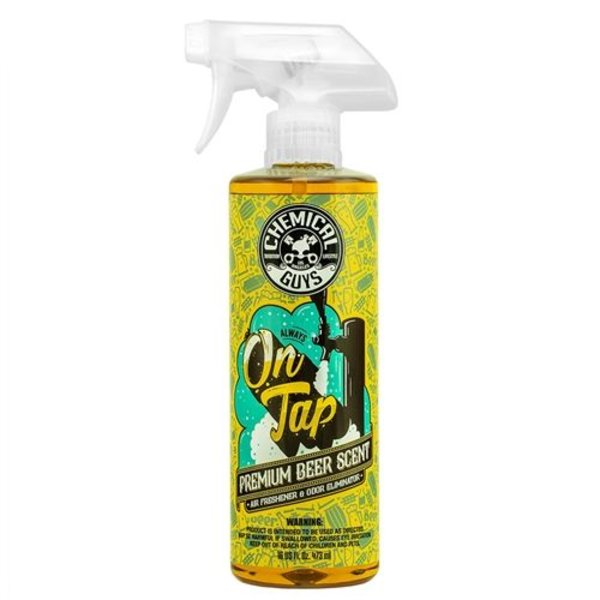 Chemical Guys Canada AIR24516 - On Tap Beer Scented Air Freshener and Odor Eliminator (16 oz)