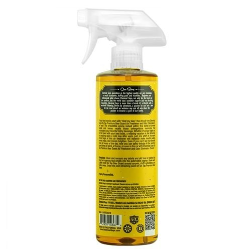 Chemical Guys AIR24516 - On Tap Beer Scented Air Freshener (16 oz)