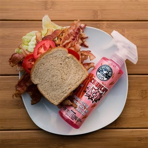 Chemical Guys AIR24216 - Crunchy Bacon Air Freshener (16 oz)
