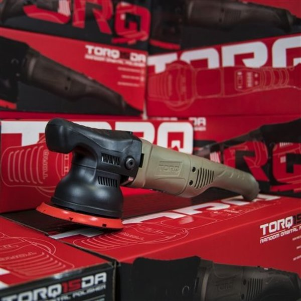 TORQ BUF505 - TORQ TORQ15DA 15mm Long-Throw Random Orbital Polisher