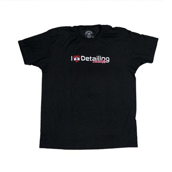 Chemical Guys Canada SHE728 - I Heart Detailing T-Shirt