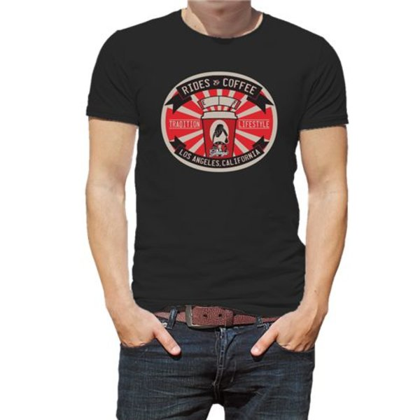 Chemical Guys Canada SHE727 - Rides and Coffee T-Shirt